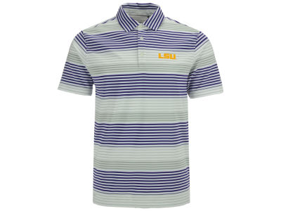 LSU Tigers Columbia NCAA Fairway Polo
