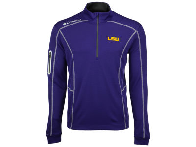 LSU Tigers Columbia NCAA Men's Shotgun Quarter Zip Pullover