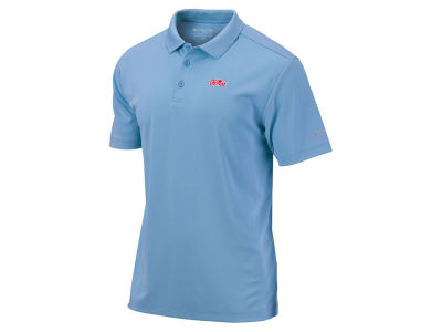 Ole Miss Rebels Columbia NCAA Men's Round One Polo Shirt