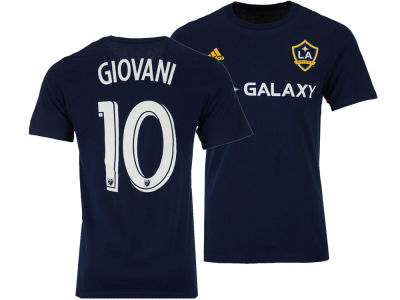 LA Galaxy Giovani dos Santos adidas MLS Men's Primary Player T-Shirt