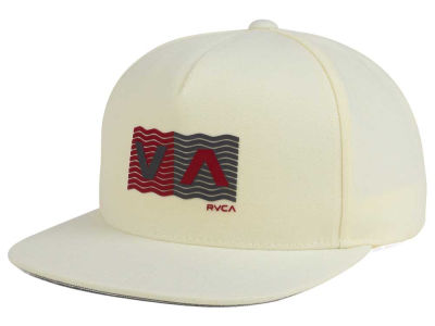 RVCA Wave Box Snapback Cap