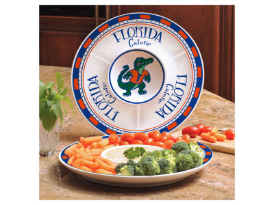 Florida Gators Ceramic Chip & Dip Plate