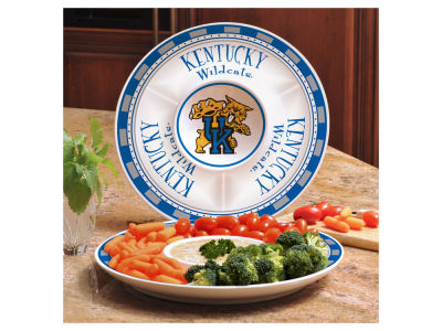 Kentucky Wildcats Ceramic Chip & Dip Plate