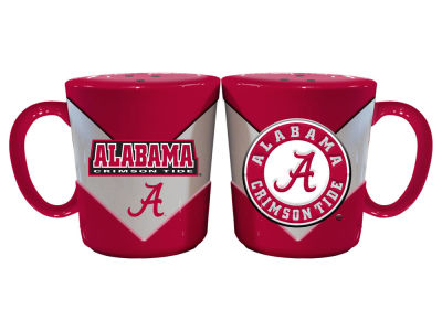 Alabama Crimson Tide Chevron Style Salt & Pepper Shakers