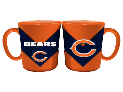 Chicago Bears Chevron Style Salt & Pepper Shakers