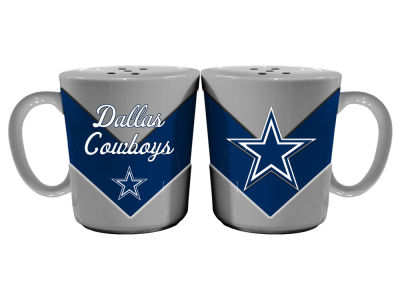 Dallas Cowboys Chevron Style Salt & Pepper Shakers
