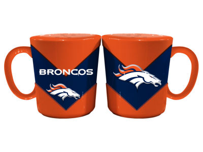 Denver Broncos Chevron Style Salt & Pepper Shakers