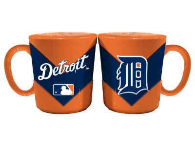 Detroit Tigers Memory Company Chevron Style Salt & Pepper Shakers