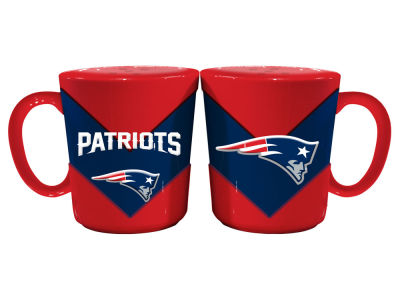 New England Patriots Chevron Style Salt & Pepper Shakers