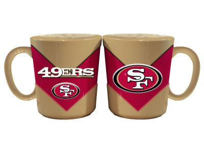 San Francisco 49ers Chevron Style Salt & Pepper Shakers