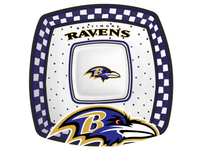 Baltimore Ravens Gameday Ceramic Chip & Dip Plate