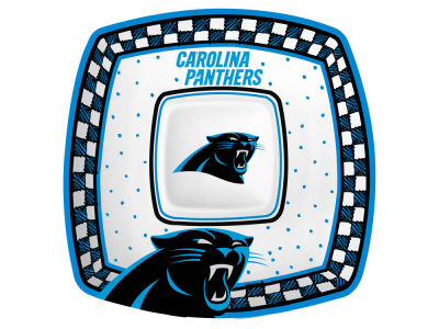 Carolina Panthers Memory Company Gameday Ceramic Chip & Dip Plate