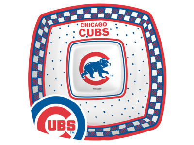 Chicago Cubs Gameday Ceramic Chip & Dip Plate