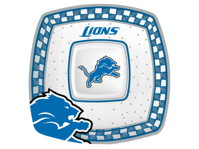 Detroit Lions Gameday Ceramic Chip & Dip Plate