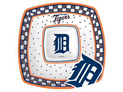 Detroit Tigers Memory Company Gameday Ceramic Chip & Dip Plate