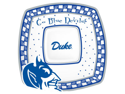 Duke Blue Devils Gameday Ceramic Chip & Dip Plate