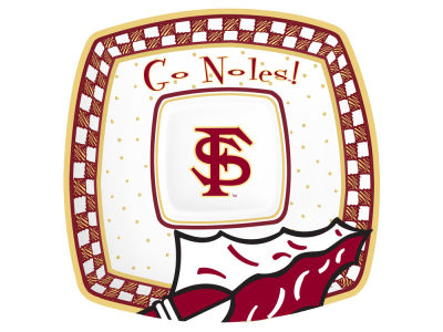 Florida State Seminoles Gameday Ceramic Chip & Dip Plate