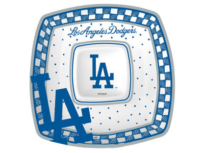 Los Angeles Dodgers Gameday Ceramic Chip & Dip Plate