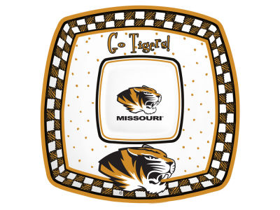 Missouri Tigers Gameday Ceramic Chip & Dip Plate