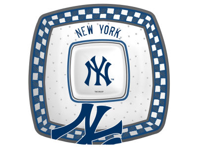 New York Yankees Gameday Ceramic Chip & Dip Plate