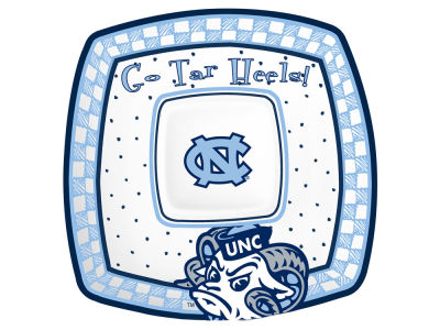 North Carolina Tar Heels Gameday Ceramic Chip & Dip Plate