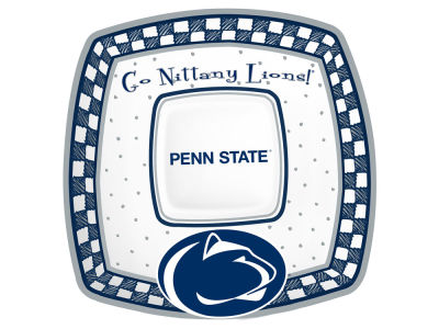 Penn State Nittany Lions Memory Company Gameday Ceramic Chip & Dip Plate