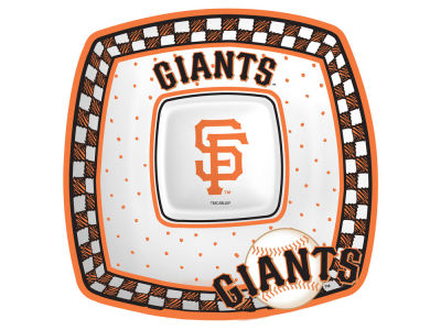 San Francisco Giants Memory Company Gameday Ceramic Chip & Dip Plate