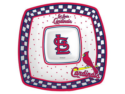 St. Louis Cardinals Gameday Ceramic Chip & Dip Plate