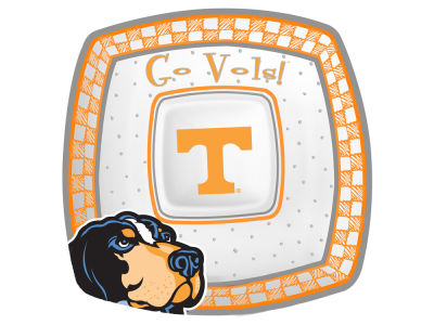 Tennessee Volunteers Gameday Ceramic Chip & Dip Plate