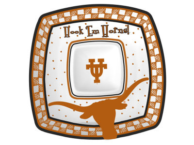Texas Longhorns Gameday Ceramic Chip & Dip Plate