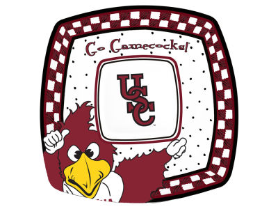 South Carolina Gamecocks Gameday Ceramic Chip & Dip Plate