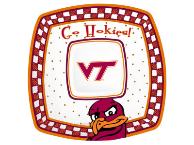 Virginia Tech Hokies Gameday Ceramic Chip & Dip Plate