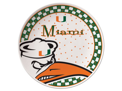 Miami Hurricanes Gameday Ceramic Plate