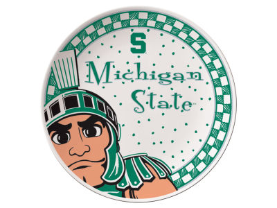 Michigan State Spartans Memory Company Gameday Ceramic Plate