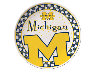 Michigan Wolverines Gameday Ceramic Plate