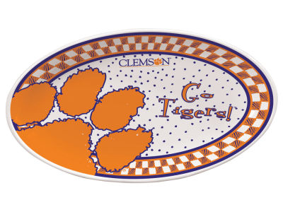 Clemson Tigers Memory Company Oval Platter
