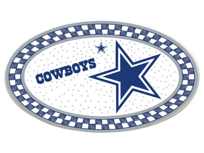 Dallas Cowboys Oval Platter