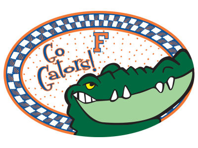Florida Gators Oval Platter