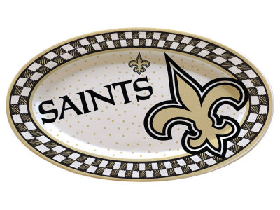 New Orleans Saints Oval Platter