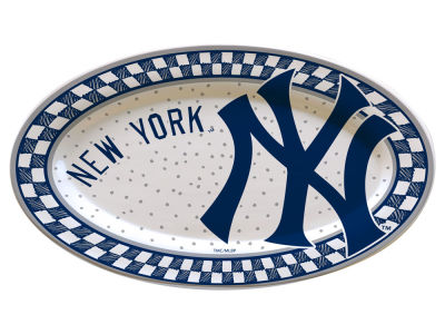 New York Yankees Oval Platter
