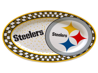 Pittsburgh Steelers Oval Platter