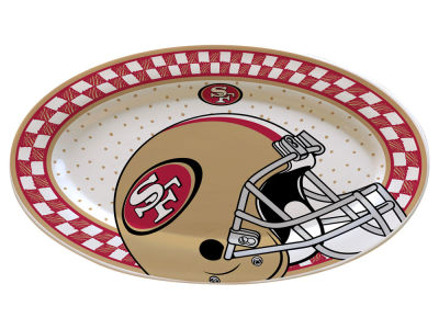 San Francisco 49ers Oval Platter