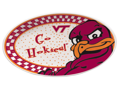Virginia Tech Hokies Oval Platter