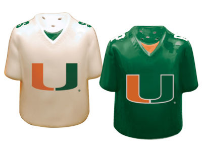 Miami Hurricanes Memory Company Gameday Salt And Pepper Shakers