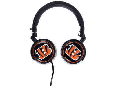Cincinnati Bengals Mizco Over the Ear Headphone