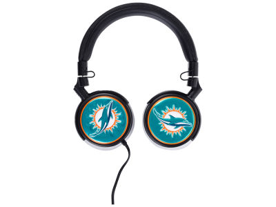 Miami Dolphins Over the Ear Headphone