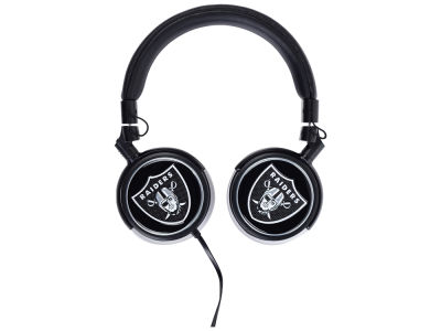 Oakland Raiders Over the Ear Headphone