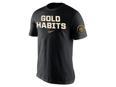 Nike NBA Men's USA Basketball Rio Gold Habits Medal T-Shirt