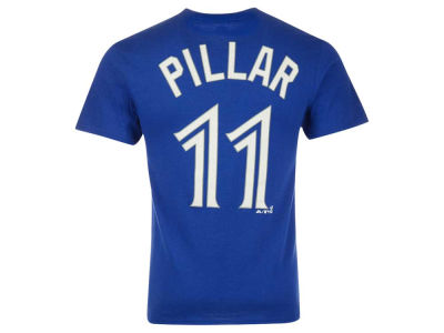 Toronto Blue Jays Kevin Pillar Majestic MLB Youth Player T-Shirt