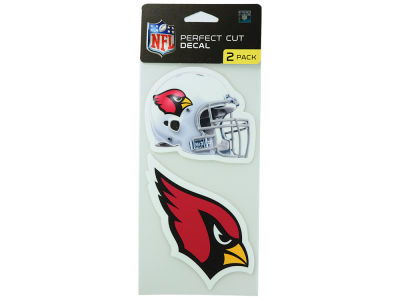Arizona Cardinals 2-pack 4x4 Die Cut Decal